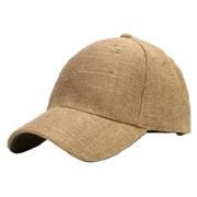 Solid Burlap Cap