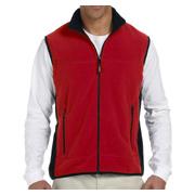 Chestnut Hill Polartec Colorblock Full-Zip Fleece Vest