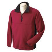 Chestnut Hill Polartec Colorblock Quarter-Zip Fleece Jacket