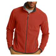 Eddie Bauer Full-Zip Vertical Fleece Jacket