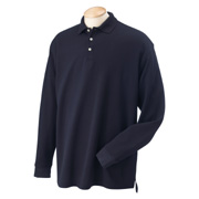 Chestnut Hill Long-Sleeve Performance Plus Pique Polo