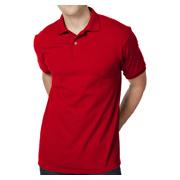 Hanes 5.2 oz. 50/50 EcoSmart Jersey Knit Polo