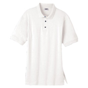 Anvil Men's Stain Repel and Release Jersey Polo - White
