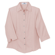 Vantage Women's Easy-Care 3/4 Sleeve French Twill Shirt