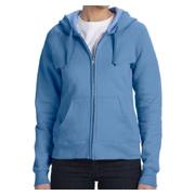 Hanes Ladies' 8 oz. 80/20 ComfortBlend EcoSmart Full-Zip Hood