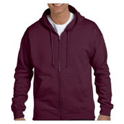 Hanes 7.8 oz. EcoSmart 50/50 Full-Zip Hood