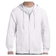 Gildan Heavy Blend 8 oz. 50/50 Full-Zip Hood - White