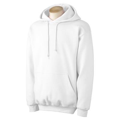 Gildan 9.5 oz. Ultra Cotton 80/20 Hood - White