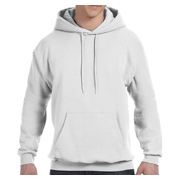 Hanes Adult 7.8 oz. EcoSmart 50/50 Pullover Hood - White