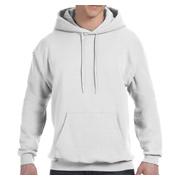 Hanes 7.8 oz. EcoSmart 50/50 Pullover Hood - White
