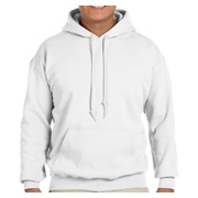 Gildan Heavy Blend 8 oz. 50/50 Hood - White