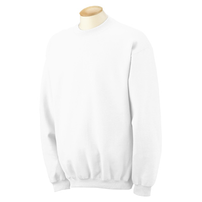 Gildan 9.5 oz. Ultra Cotton 80/20 Fleece Crew - White