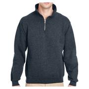 Jerzees 9.5 oz. 50/50 Super Sweats NuBlend Fleece Quarter-Zip Pullover