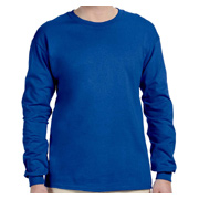 Fruit of the Loom Adult 5 oz. HD Cotton Long-Sleeve T-Shirt