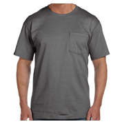 Fruit of the Loom Adult 5 oz. HD Cotton Pocket T-Shirt