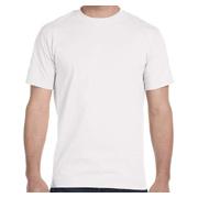 Gildan Adult 5.5 oz. 50/50 T-Shirt - White