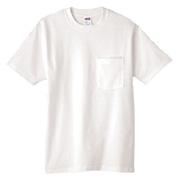 Anvil Heavyweight Pocket T-Shirt - White