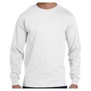 Gildan DryBlend 5.6 oz. 50/50 Long-Sleeve T-Shirt - White