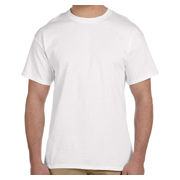 Jerzees Adult 5 oz. HiDENSI-T T-Shirt - White