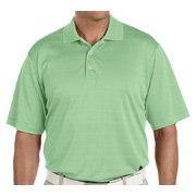 Adidas Golf Men's climalite Textured Short-Sleeve Polo