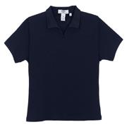 Vantage Women's Solid Micropima Jacquard Polo