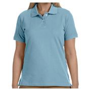 Harriton Ladies' 6.5 oz. Ringspun Cotton Pique Short-Sleeve Polo