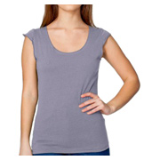 American Apparel Sheer Jersey 2-Sided Top