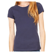 Bella + Canvas Ladies' Stretch Rib Short-Sleeve T-Shirt