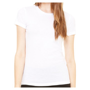 Bella + Canvas Ladies' Jersey Short-Sleeve T-Shirt - White
