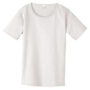 Anvil Ladies' Heavyweight Scoop Neck T-Shirt - White