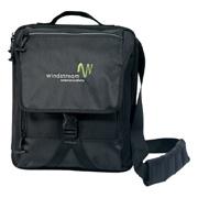 Life in Motion Netbook Vertical Messenger Bag
