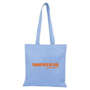 V Natural Organic Tote - Flat/Colored