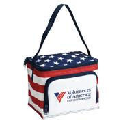Americana Stars N Stripes 6 Pack Cooler