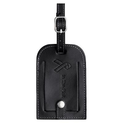 Millenium Leather Identification Tag