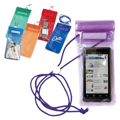 Waterproof Pouch for Phone and Valuables