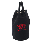 Heavy Cotton Canvas Boat Tote/Drawstring Bag