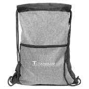 Trilogy Two-Tone Drawstring Bag