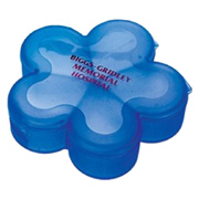 5-Compartment Flower Shape Pill Box