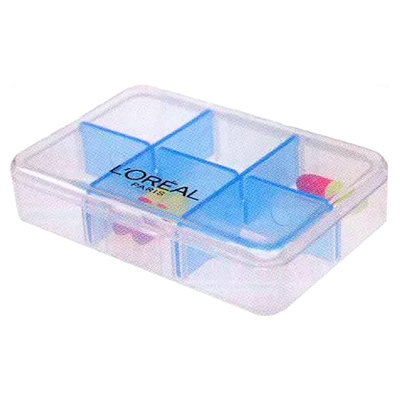 6-Compartment Pill Box