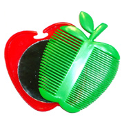 Apple Comb and Mirror
