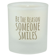 Soy Candle Frosted Glass 3 oz.