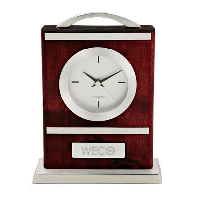 Wood and Aluminum Carriage Clock