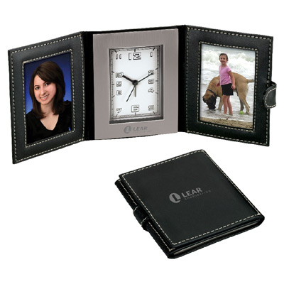 Travel Clock and Two Photo Frames