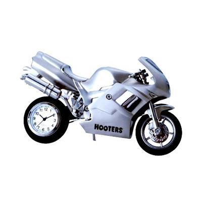 Motorcycle Metal Clock