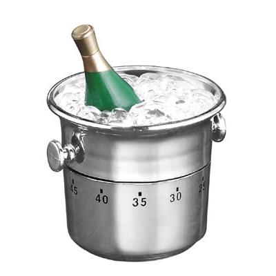 60 Minute Kitchen Timer - Champagne Bottle