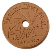 Chocolate CD In CD Case
