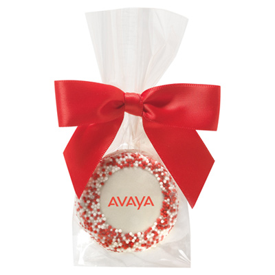 Favor Bag With Chocolate Covered Oreo - Corporate