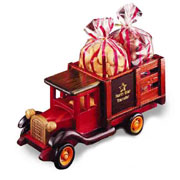 Classic 1925 Stake Truck With Milk Chocolate Almonds and Cashews