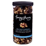 FunkyChunky Sea Salt Caramel Popcorn Tall Canister