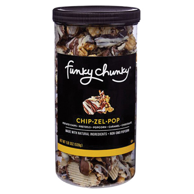 FunkyChunky Chip-Zel-Pop Tall Canister